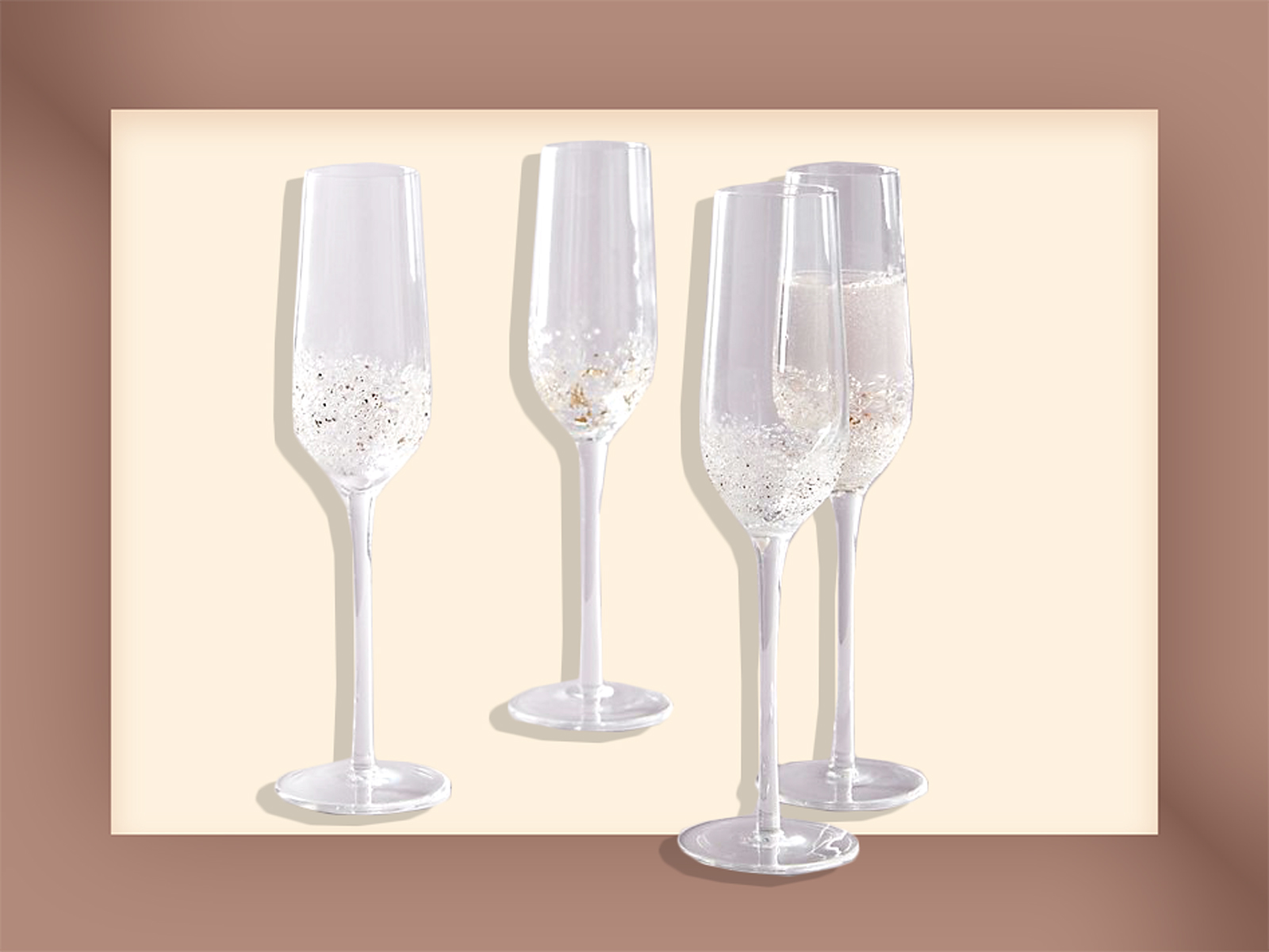 Anthropologie Champagne Flutes