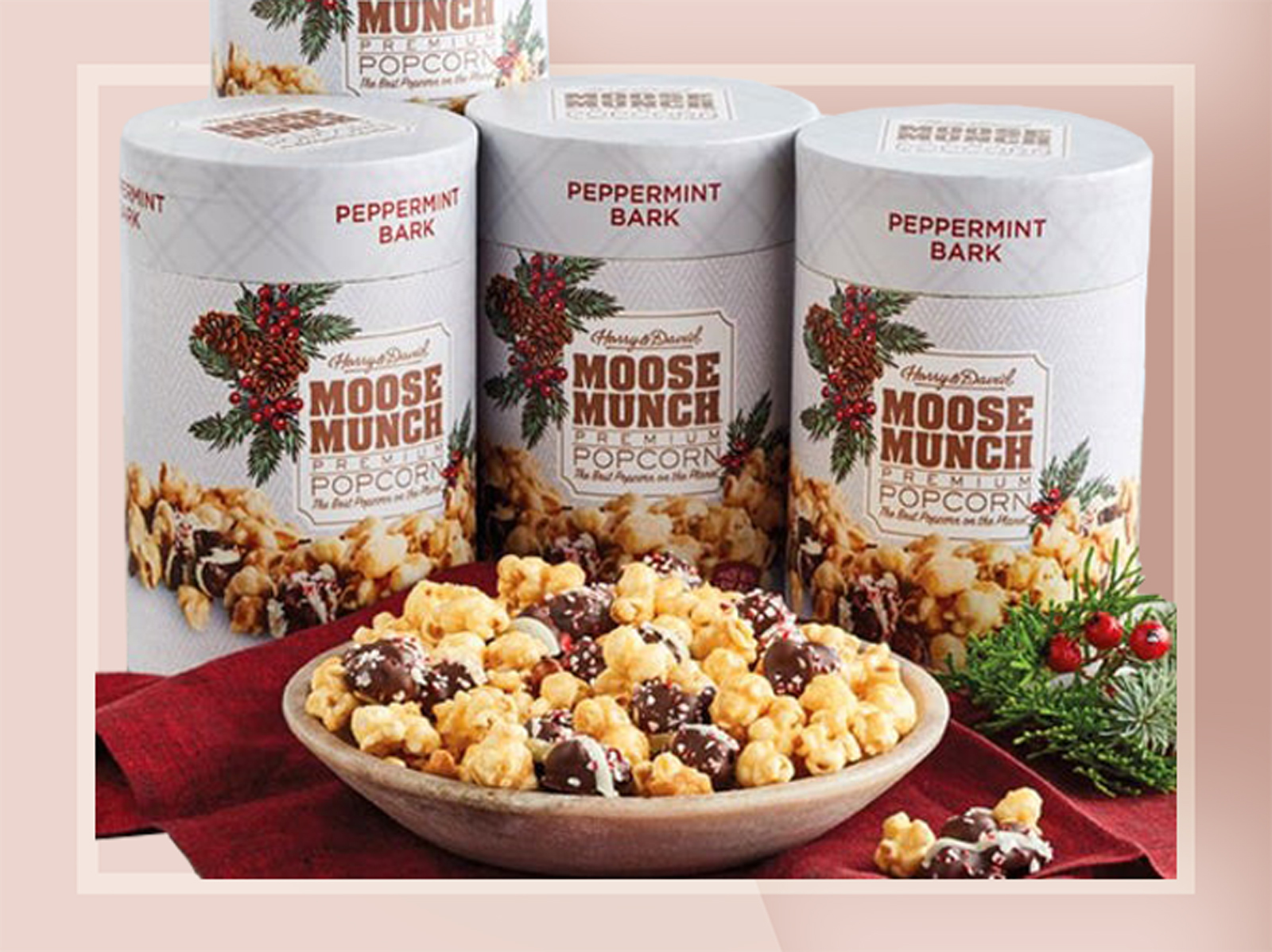 Harry & David Moose Munch Peppermint
