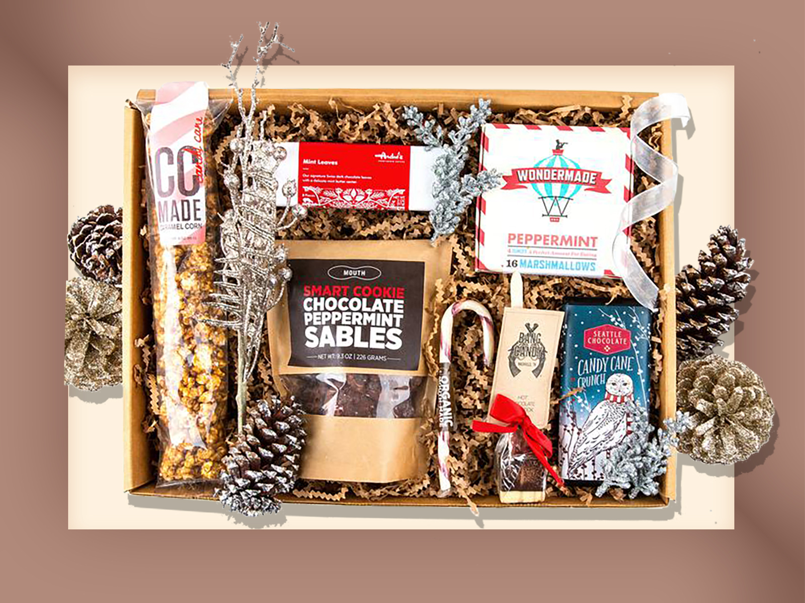 Mouth peppermint gift box