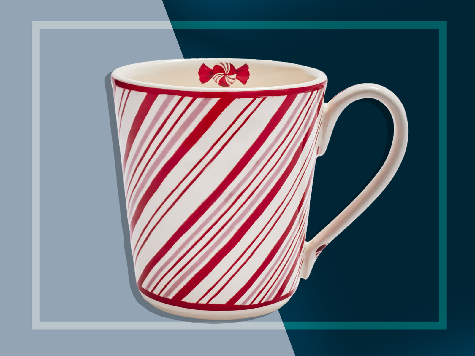 Sur La Table Peppermint Mug
