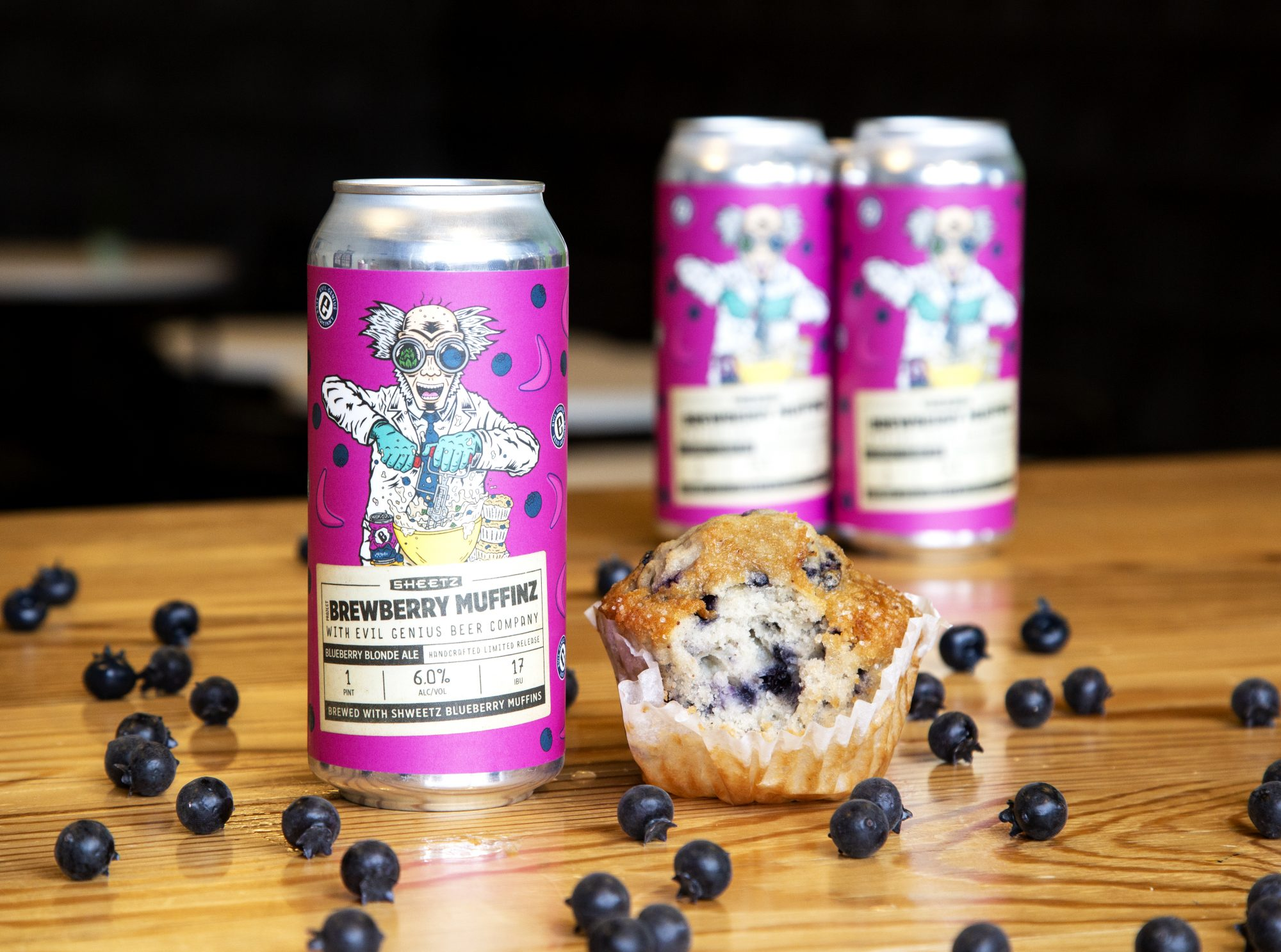 Sheetz's Second Beer Is Made with Their Blueberry Muffins