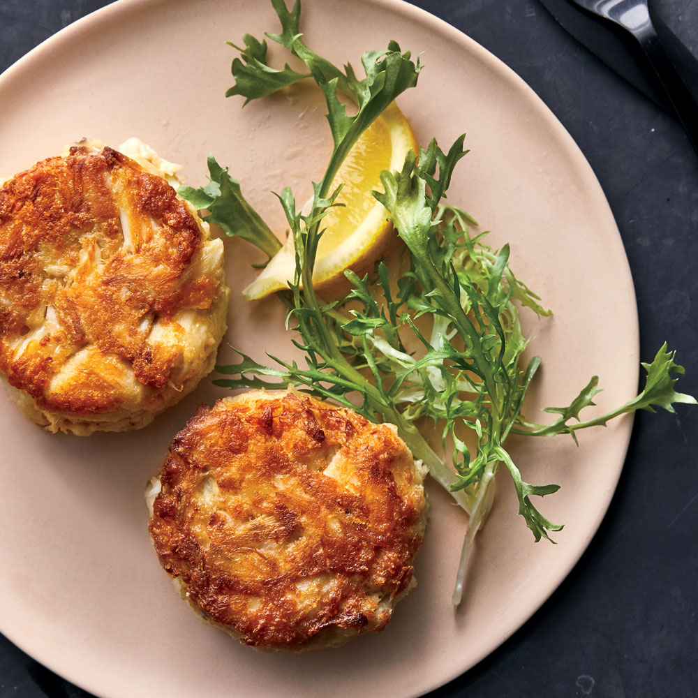 Baltimore Style Crab Cakes Recipe Andrew Zimmern Food Wine