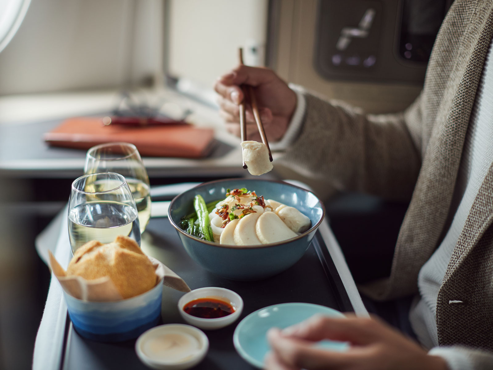 Cathay Pacific Fish Cake