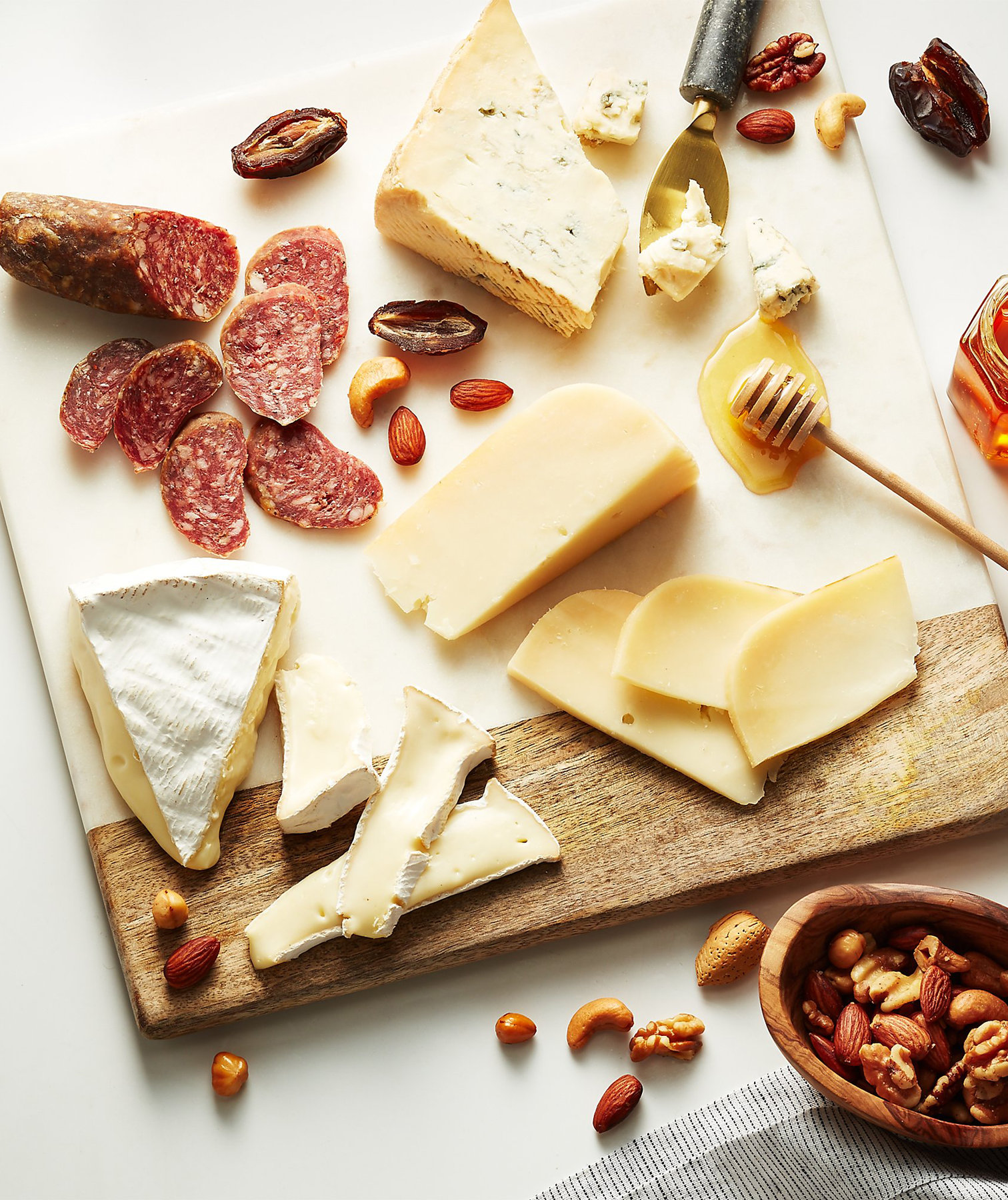 Crate & Barrel Sells Cheese Now, and Building Your Own Charcuterie Board Has Never Been Easier