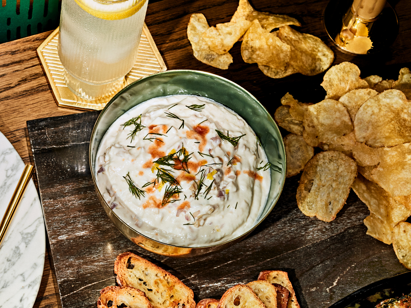 Fancy Clam Dip Recipe