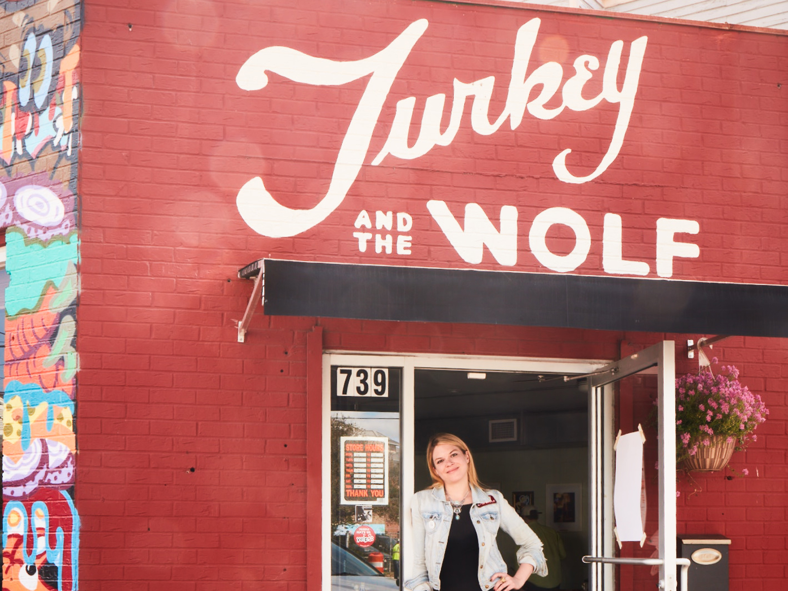 Turkey and the Wolf Exterior