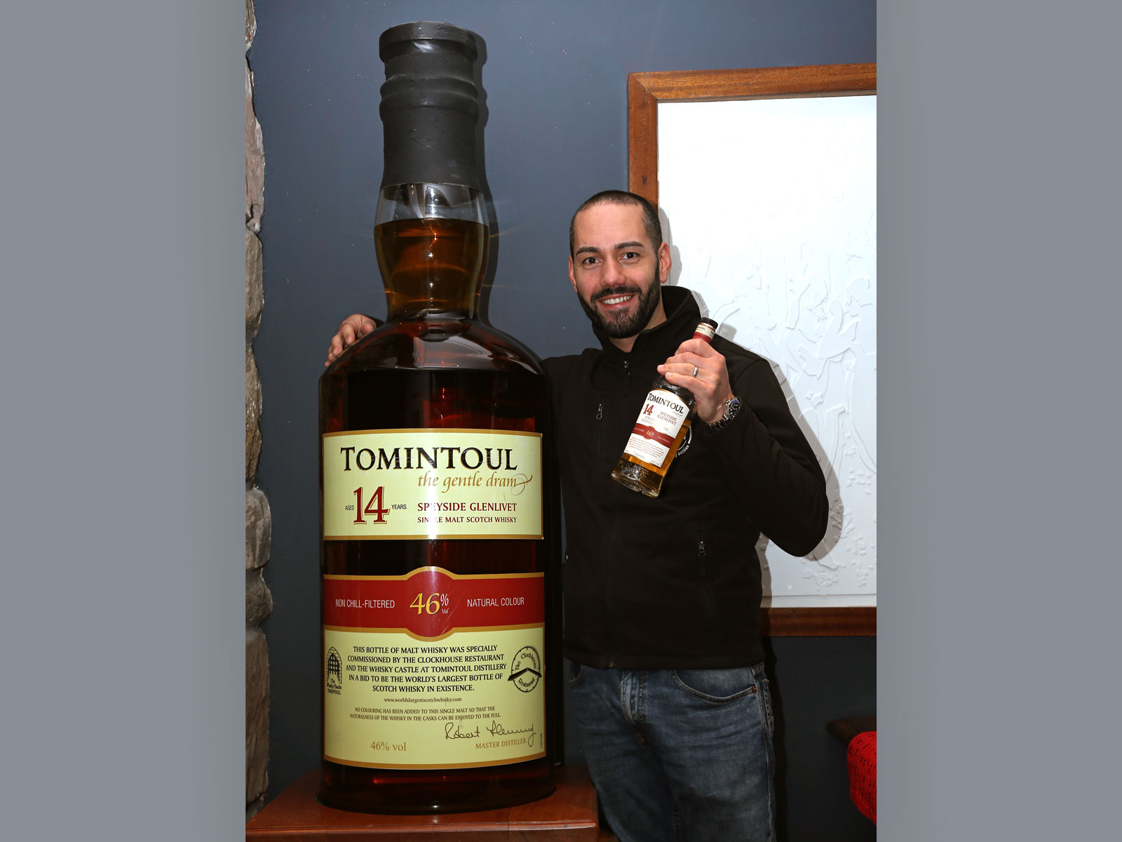 The 'World's Largest' Bottle of Single Malt Scotch Is Up for Auction