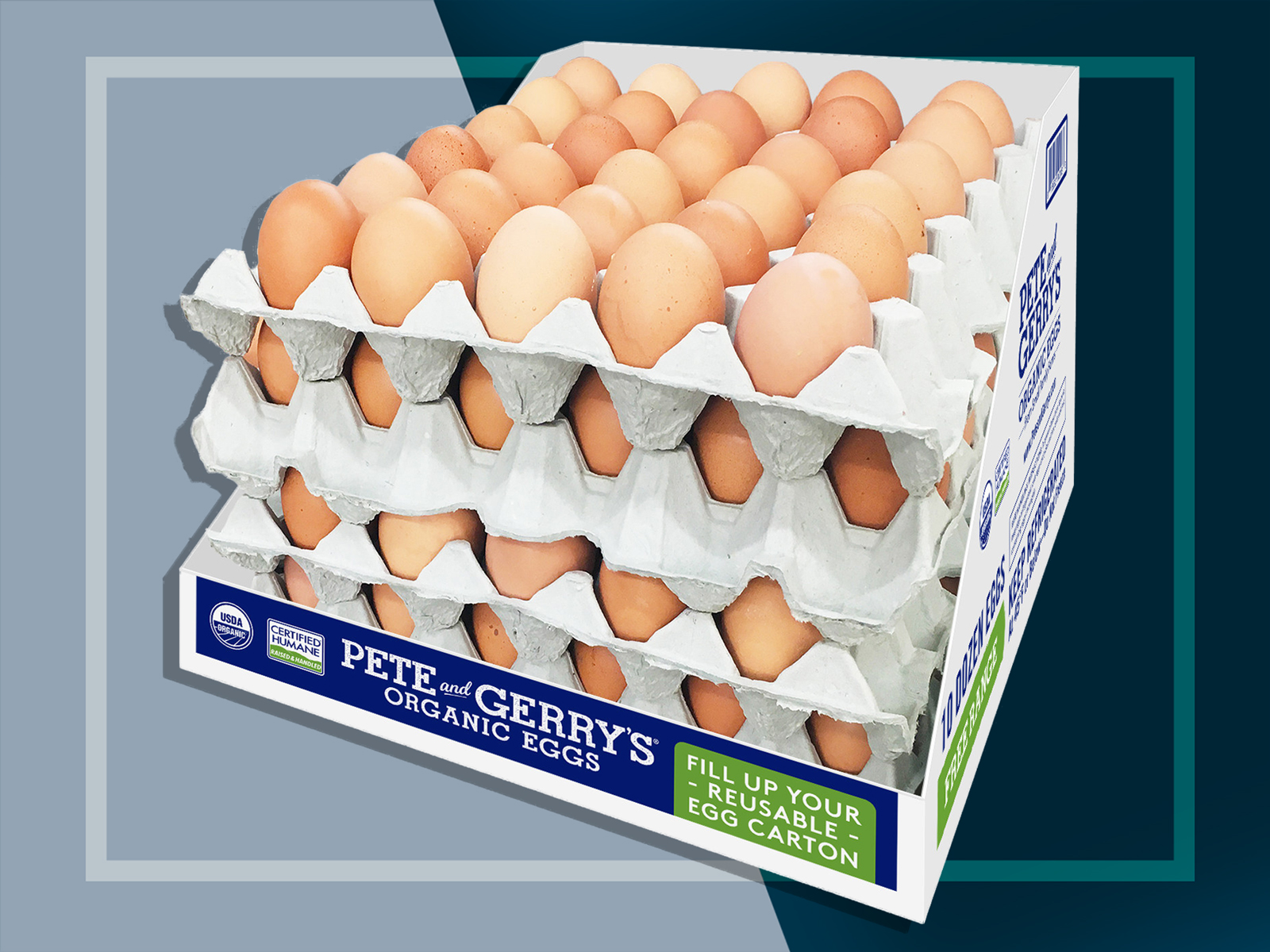 Pete and Gerry's Resuable Egg Cartons