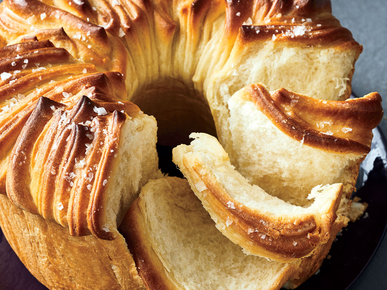 Pull-Apart Milk Bread Wreath Recipe