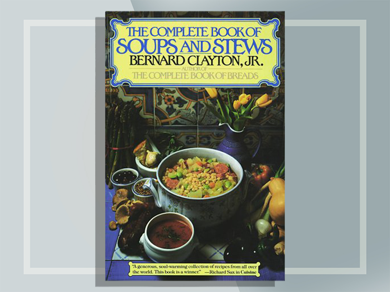 Soup and stew cookbook