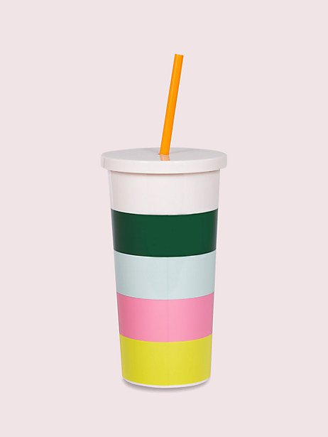 color blocked tumbler