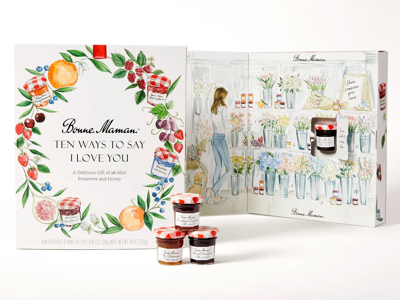 Bonne Maman Just Released a New Gift Box of Mini Jams, Just in Time for Valentine's Day
