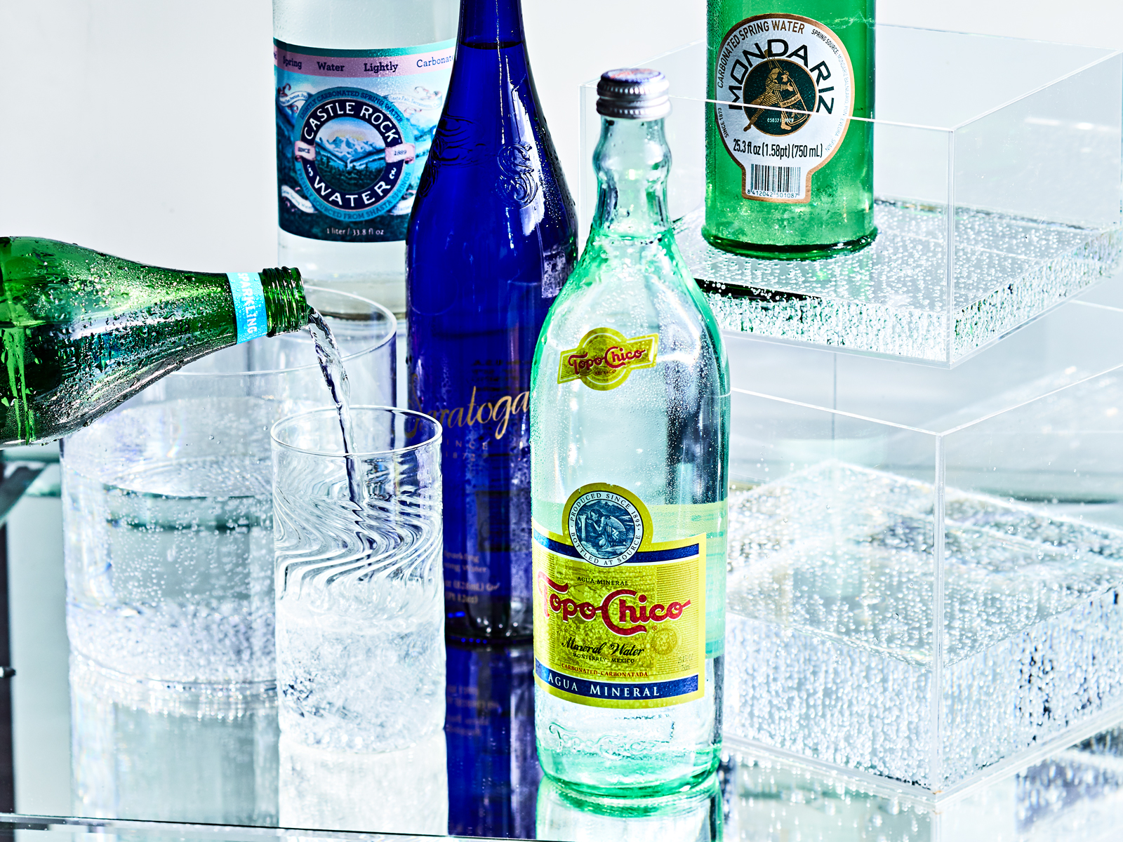 Single-Source All-Natural Sparkling Waters