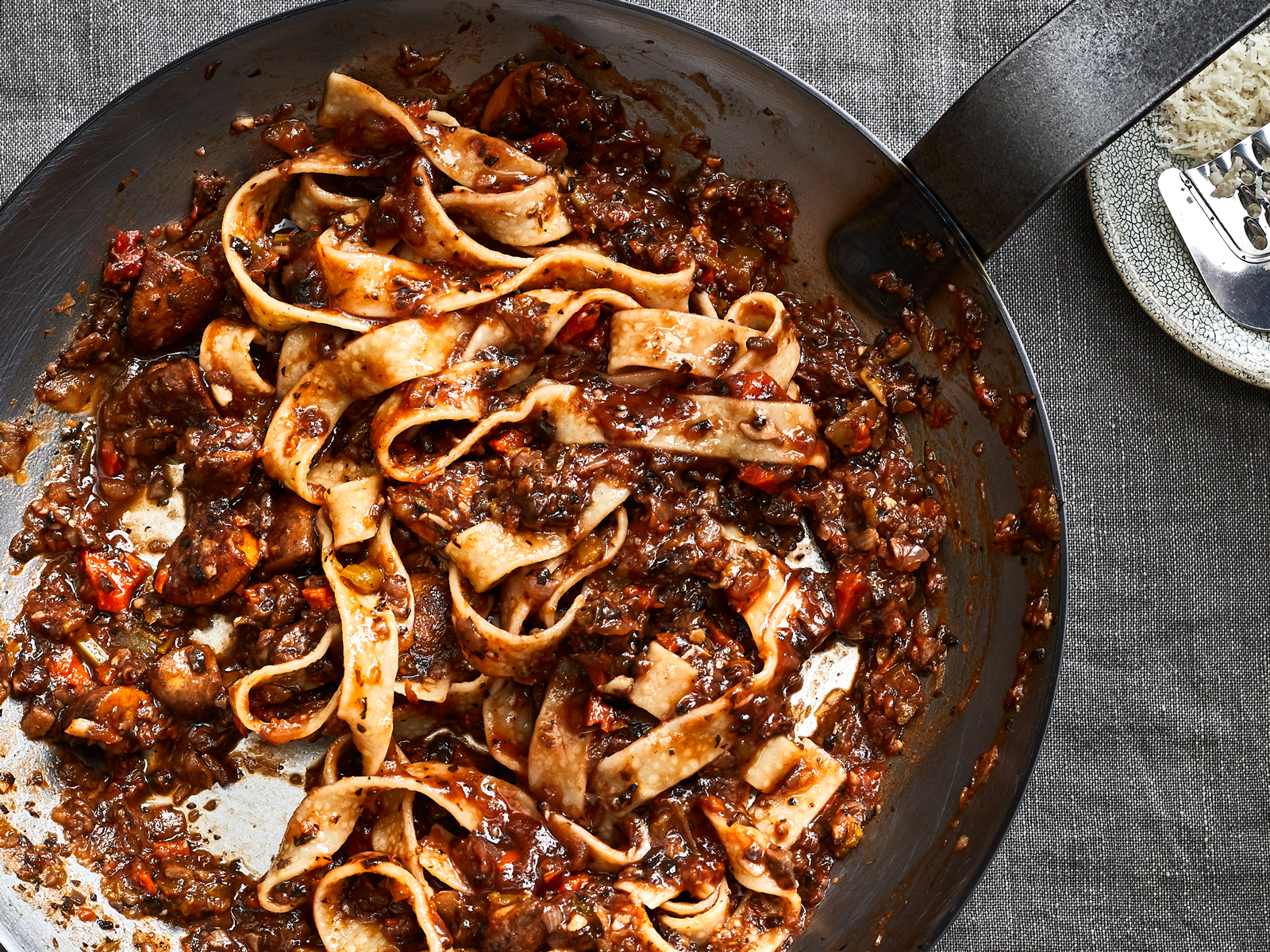 This Hearty Ragù Is a Perfect Weeknight Vegetarian Dinner