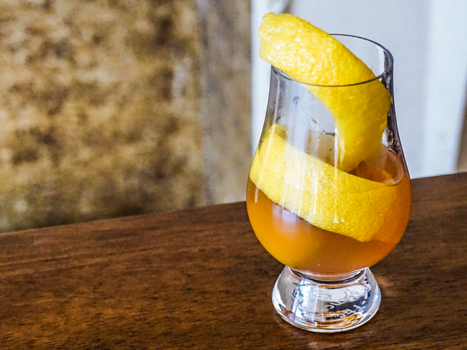 Hot Ginger Cocktails | Ginger Bourbon
